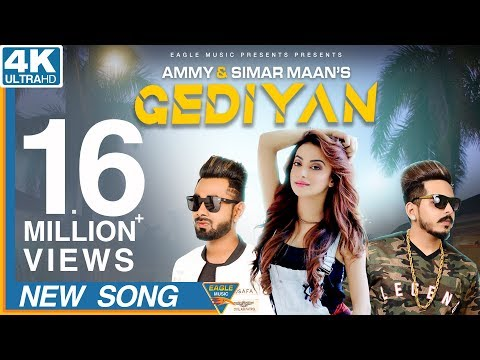 Gediyan -Simar Maan| Ammy Ft Bhumika Sharma | Latest Song 2018| Full HD Video| Eagle Music Official