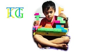 Brick Toys: Build Lego Cargo Ship with Kids, How to build Lego Cargo Ship