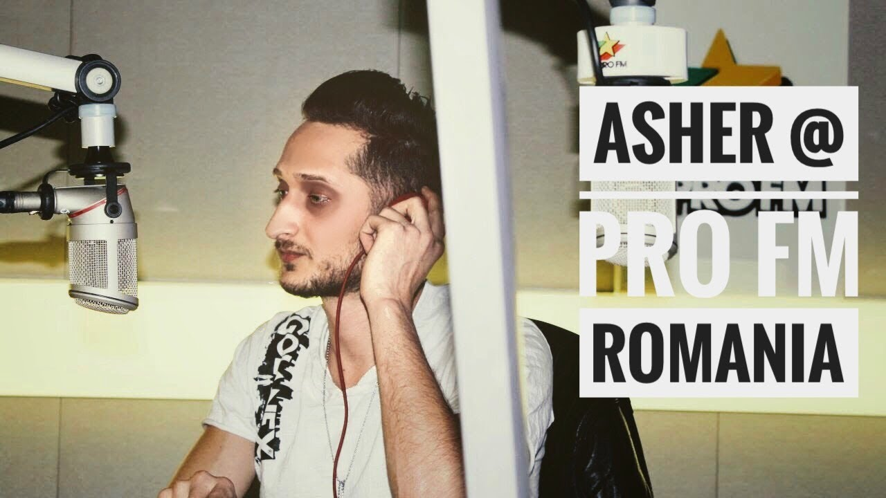 Asher Live @ Pro FM Romania | Party Mix Show (English Subtitles)