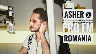 Asher Live Pro FM Romania Party Mix Show (English Subtitles)