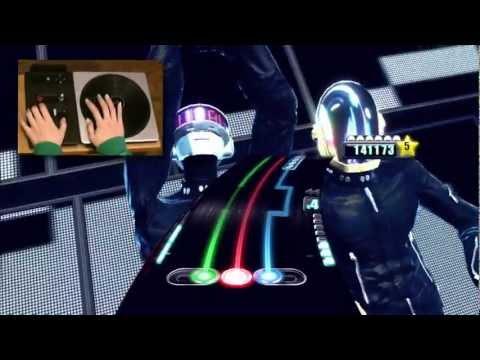 DJ Hero - Daft Punk/Megamix 2 (Medium) 手元プレイつき