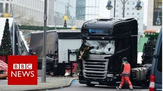 Berlin attack  Police uncertain detained suspect drove lorry   BBC News
