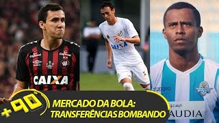 TODAS AS BOMBAS DO MERCADO DA BOLA | #MAIS90 AO VIVO!