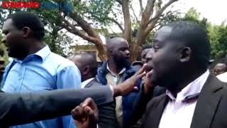 Journalists walk out of NASA briefing, demand assurance of security before covering political events