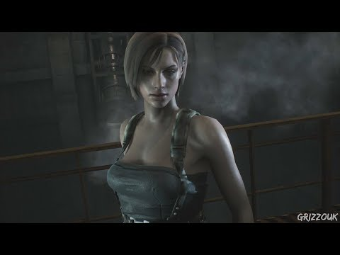 Resident Evil 2 Remake Claire Redfield Jill Valentine Re3