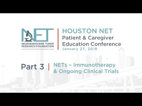 3. Immunotherapy & Ongoing Clinical Trials, Dan Halperin, MD, MD Anderson, 2018 Houston Conference
