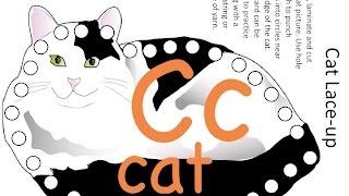 Visual Montessori Letter C
