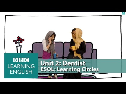 Learning Circles - Dentist: Vocabulary and phrases to help you book a dentist appointment