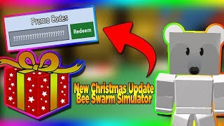 *Christmas Update* Bubble Bee Man Location 🎁 New Code | Roblox Bee Swarm Simulator New Update