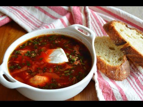 Authentic Ukrainian Borscht | How to make Ukrainian red beet soup