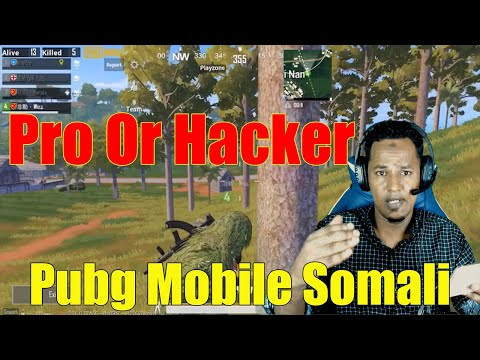 Best Player Pubg Mobile Somali Pro Or Hacker Watch This Video