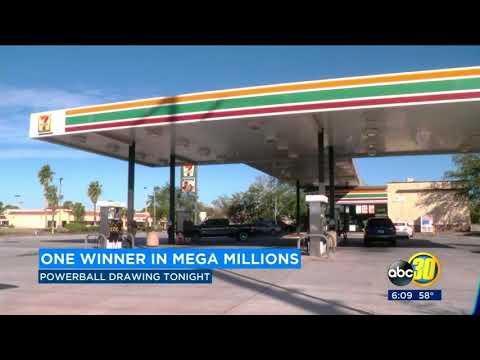 $450 million Mega Millions winning ticket sold in Florida