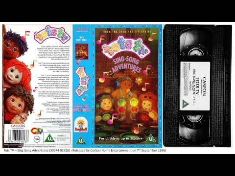 Tots TV - Sing-Song Adventures [VHS] (1998)