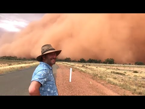 Massive Dust Storm In Australia