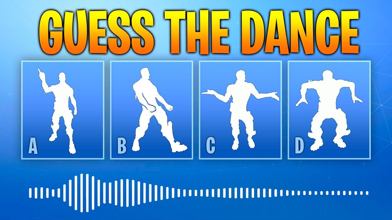 Guess The Fortnite Dance Name By The Sound Music 1 Fortnite