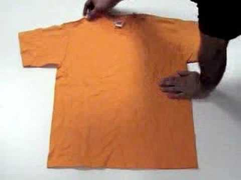 Fold a shirt youtube for Japanese way to fold shirts