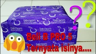 Download Video Beli B-PRO 5 alpha edition di olshop Ternyata isinya....#unboxing b-pro 5 dr berrisom indonesia MP3 3GP MP4