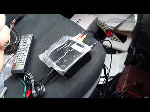 Недорогой Цифровая приставка DVB-T2 HD для автомобиля (Лучшая цена!)