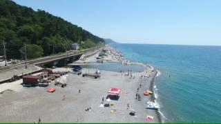 Лазаревское Солоники море Курорт 2016 4К(полный экран)(, 2016-07-15T11:56:09.000Z)