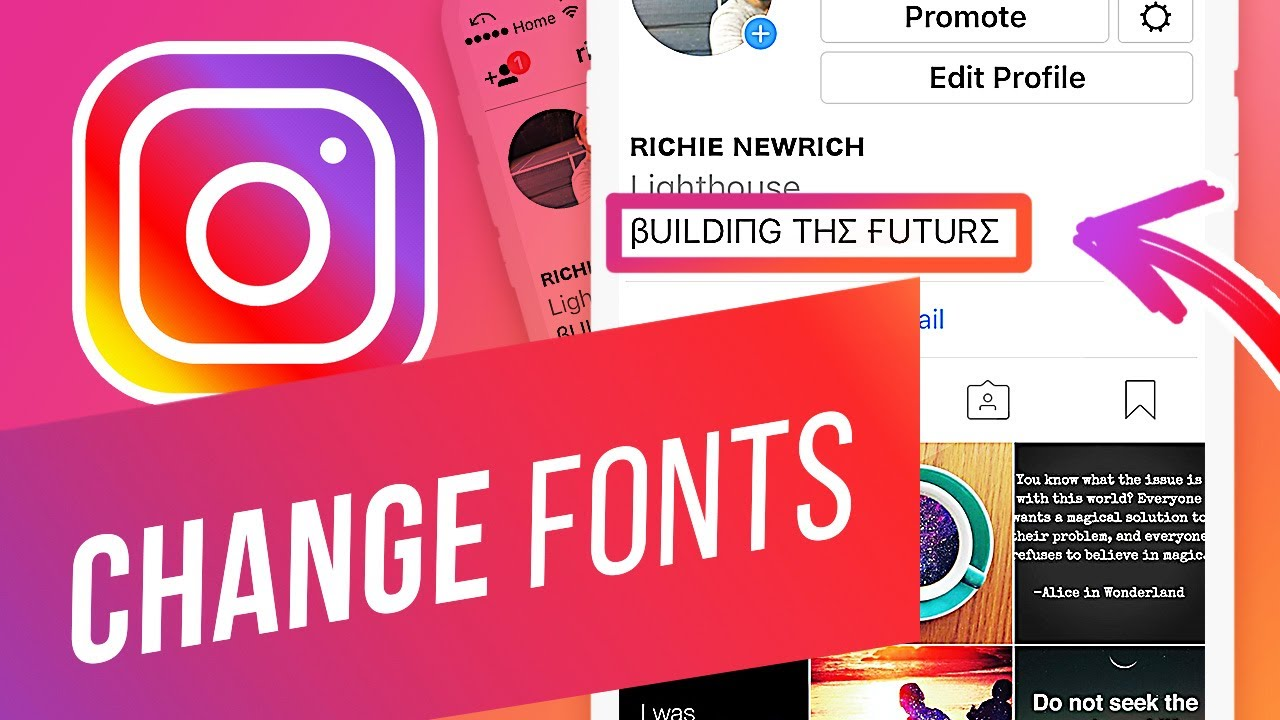 How to Change Instagram Username Font  How to Change the Font in Your  Instagram Bio