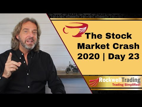 The Stock Market Crash 2020 – Short Selling Put Options – Live Examples