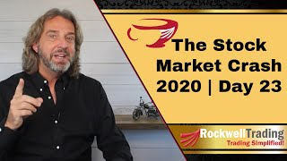 The Stock Market Crash 2020 - Short Selling Put Options - Live Examples