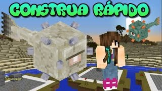 Minecraft Minigame - CONSTRUA RÁPIDO (Speed Builders)