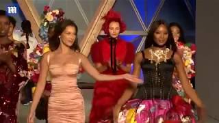 Naomi Campbell hosts Fashion for Relief show in Cannes