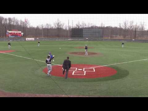 NCAA D1 Baseball: Binghamton University @ University of Massachusetts ... 3-25-17