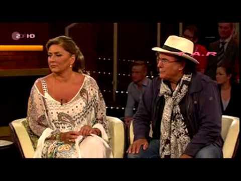 Albano e Romina Power intervista fatta da Markus Lanz