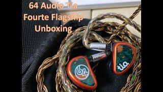 64 Audio Tia Fourte Flagship Unboxing Video (4 Driver IEM)
