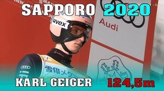 Karl Geiger dritter bei Quali in Sapporo - 124,5m