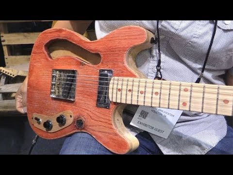 SNAMM '18 - Clifton Guitarworks Flathead Demos