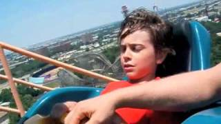 MUST SEE! First Time on a Roller Coaster