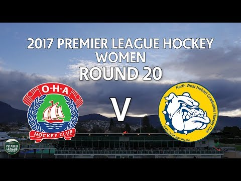 OHA v North West Grads | Women Round 20 | Premier League Hockey 2017