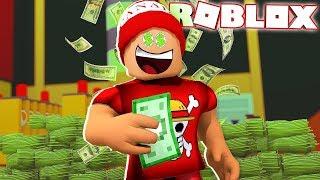 100.000 ROBUXOT CSINÁLTAM!!! Roblox Bank Tycoon