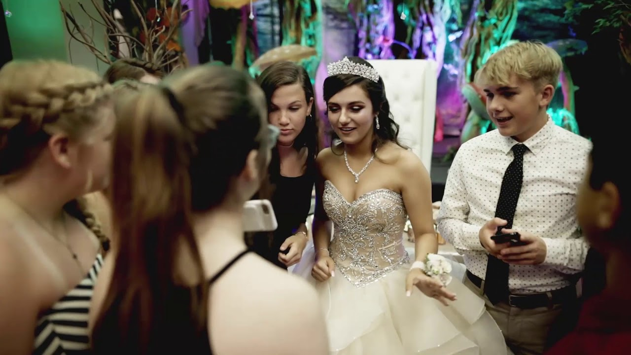bc6874c42e1 Yasmine s Enchanted Forest - Quinceanera - YouTube