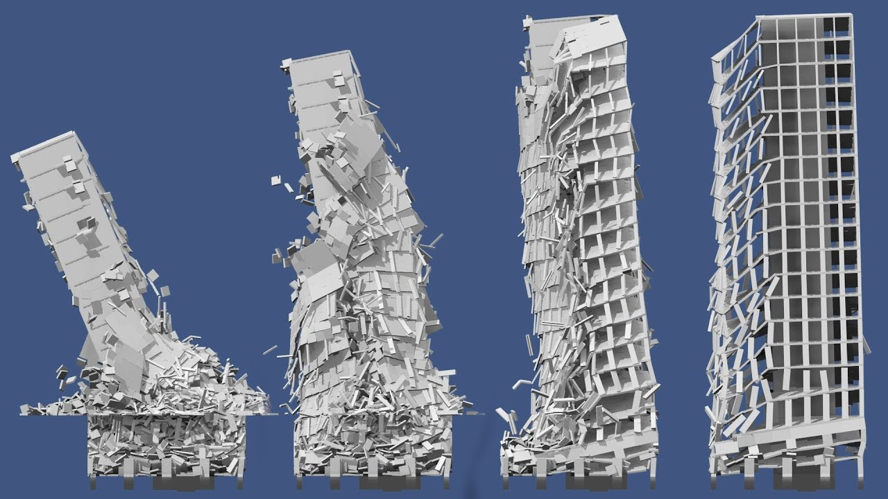 Collapse of residential highrise building 3 long fp7 for Builders to build a house