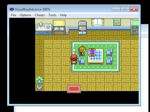 Pokemon leaf green. how to get town map   YouTube