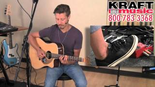 Kraft Music - Boss RC-3 Loop Station Demo with Tony Smiley