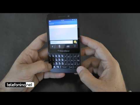BlackBerry Q5 videoreview da Telefonino.net