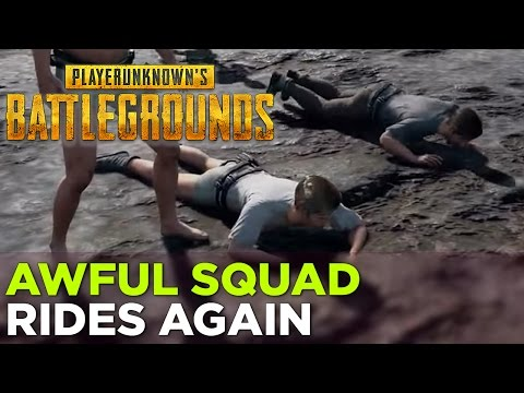 Griffin, Nick, Pat, Russ, and Justin play PLAYERUNKNOWN'S BATTLEGROUNDS