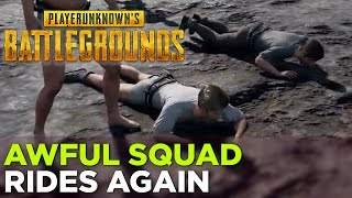 Griffin, Nick, Pat, Russ, and Justin play PLAYERUNKNOWN