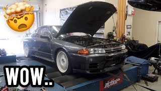 homepage tile video photo for GTR back on the dyno.. SHOCKING RESULTS!