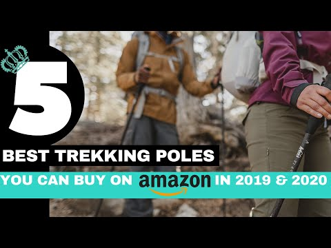 5 Best Trekking Poles You can buy on Amazon in 2019 & 2020