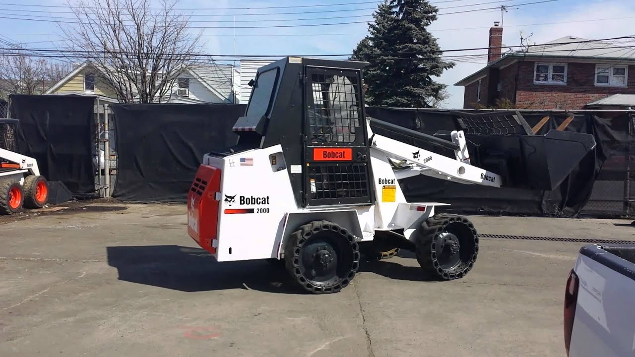 Bobcat 2000 Payloader Youtube