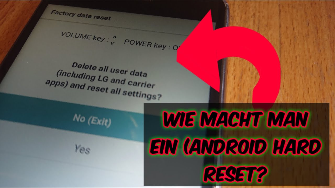 Android Hard Reset! [2020]