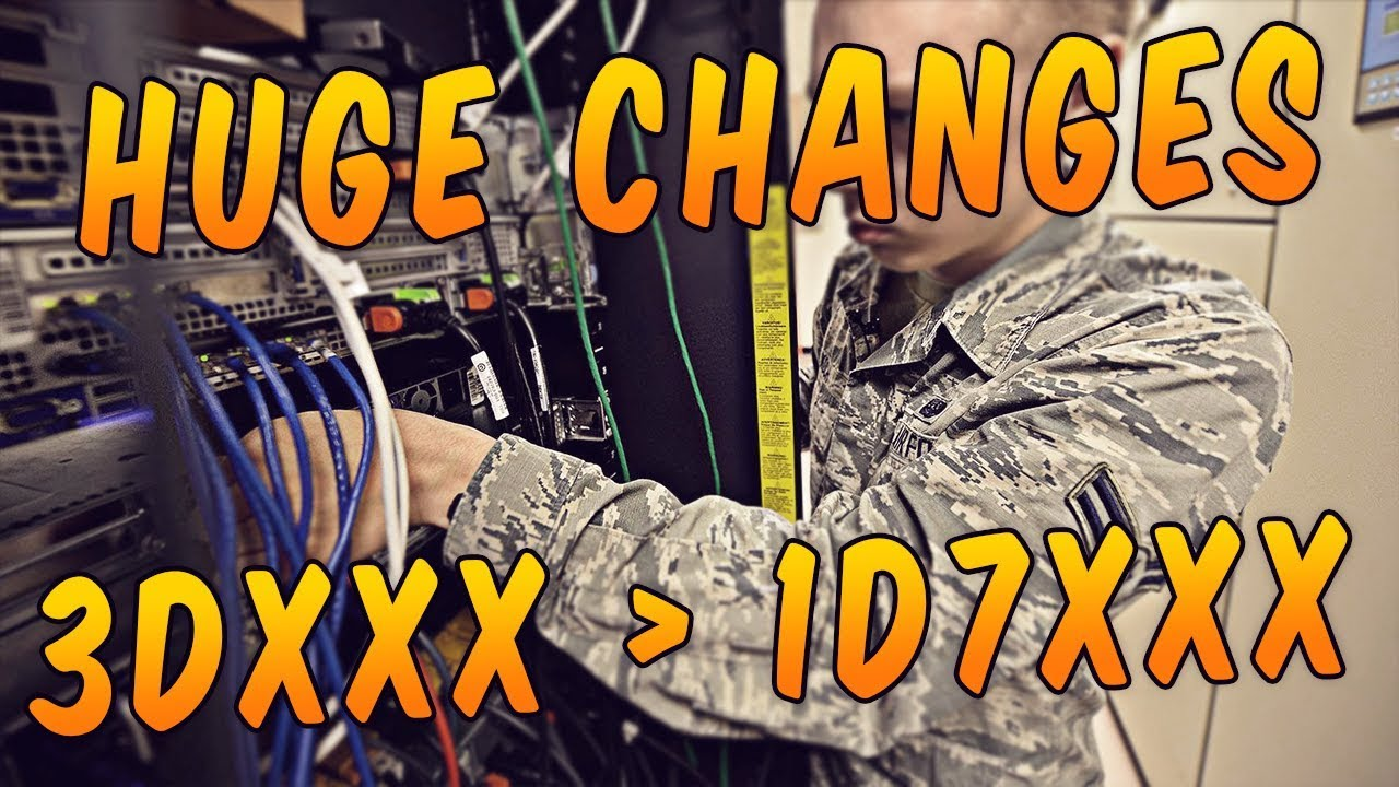 3Dxxx huge changes to cyber jobs! 3dxxx afsc transition? / united states air force