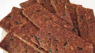 Сыроедные Хлебцы Рецепт № 1 Льняные | Syroednye Bread Recipe number 1 Linen
