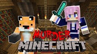 LDSHADOWLADY TRIED TO KILL ME - Minecraft Murder W/LDShadowlady